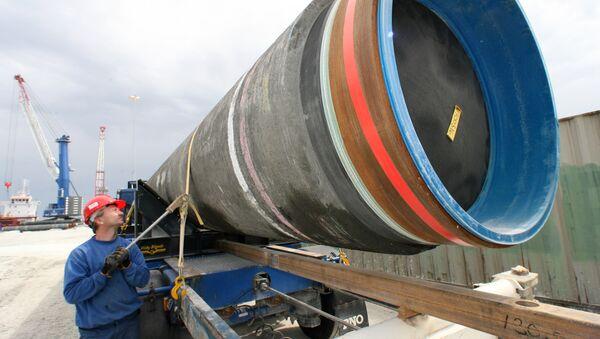 Costruzionee del gasdotto Nord Stream 2 - Sputnik Italia