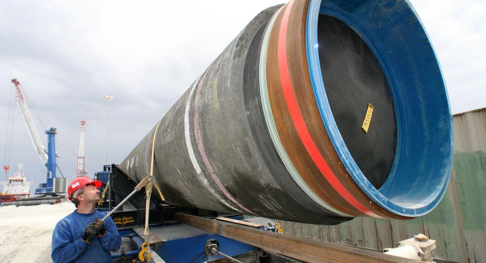 Costruzionee del gasdotto Nord Stream 2