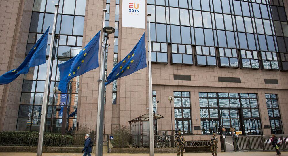 Sede del Parlamento europeo a Bruxelles