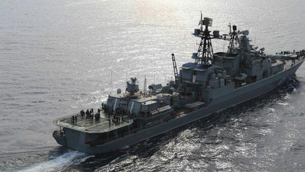 Il cacciatorpediniere anti-sommergibili russo Vice Ammiraglio Kulakov - Sputnik Italia