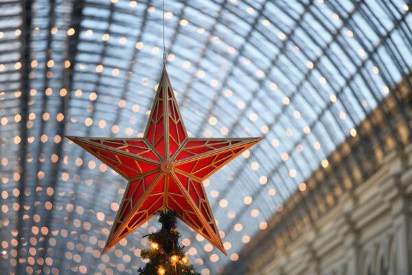 La magia delle feste ai grandi magazzini GUM. - Sputnik Italia