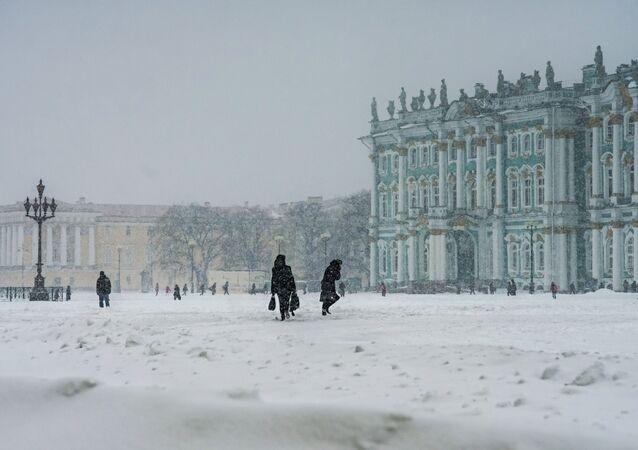 Il museo dell'Ermitazh di San Pietroburgo