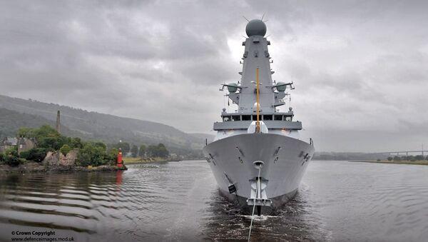 Cacciatorpediniere della Marina britannica HMS Duncan - Sputnik Italia