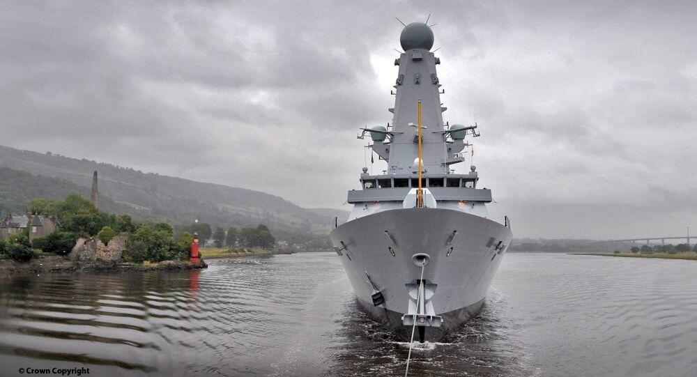 Cacciatorpediniere della Marina britannica HMS Duncan