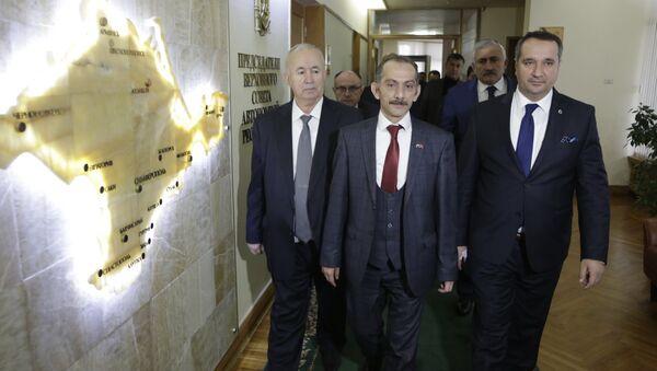 Turkish delegation visits Crimea - Sputnik Italia