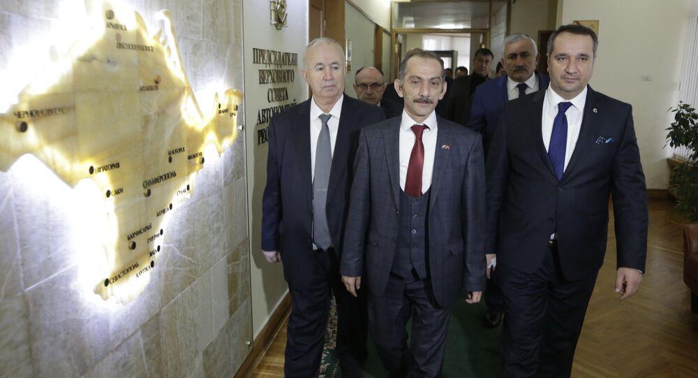 Delegazione turca in Crimea