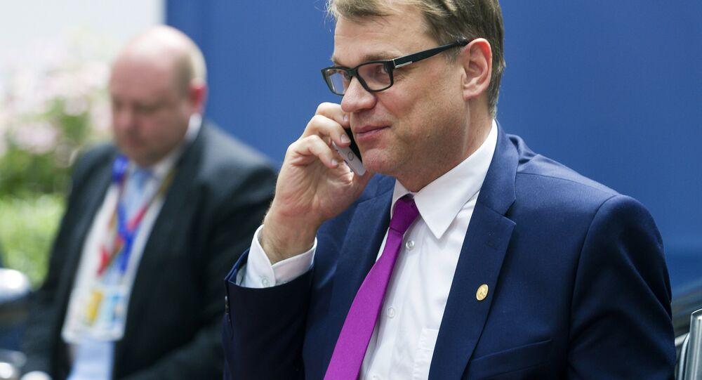 Il primo ministro finlandese Juha Sipilä