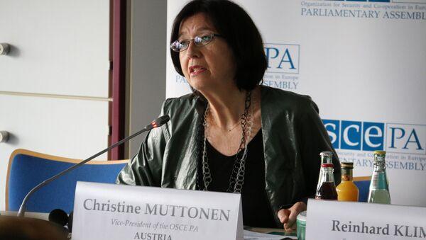 Christine Muttonen - Sputnik Italia