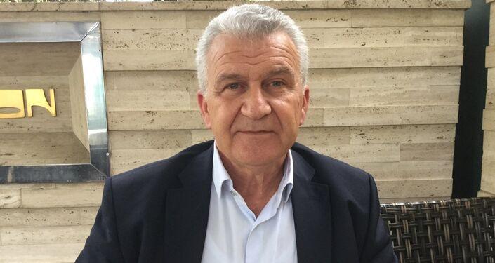 Il consigliere speciale del Primo Ministro della Grecia in relazione alla cooperazione con la Russia, Dimitrios Velanis.