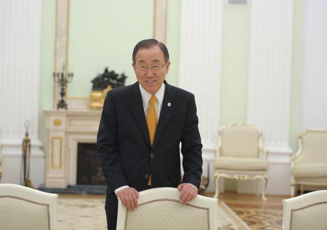 Segretario delle Nazioni Unite Ban Ki-moon