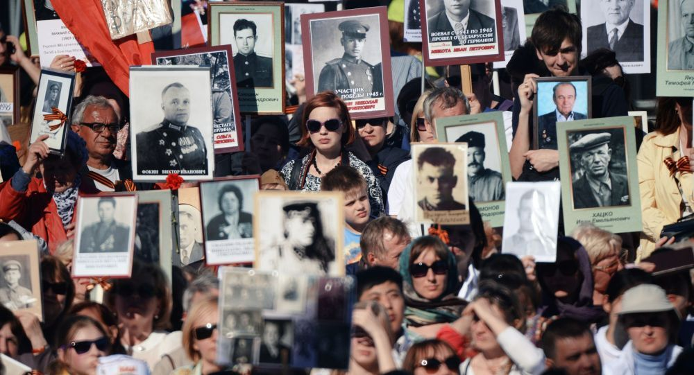 Manifestazione del Reggimento Immortale (Foto d'archivio)