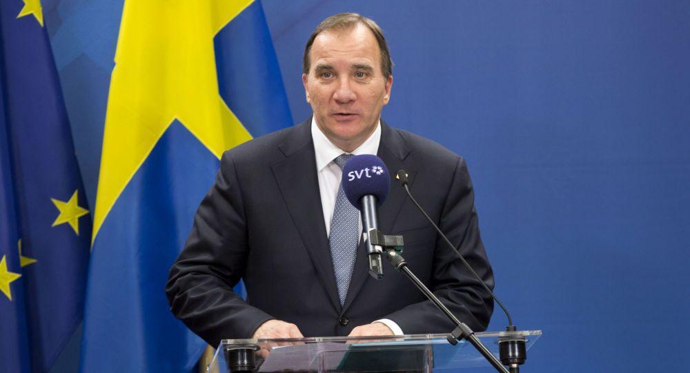Premier svedese Stefan Löfven (foto d'archivio)
