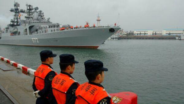 Российско-китайские учения Морское взаимодействие 2012 - Sputnik Italia