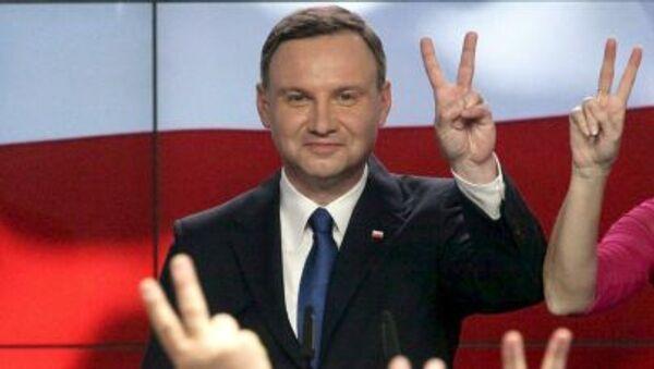Polonia, neo presidente Andrzej Duda - Sputnik Italia