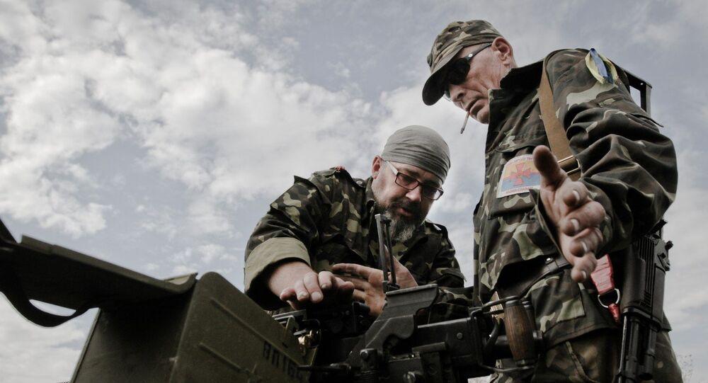 Forze di sicurezza ucraine nel Donbass