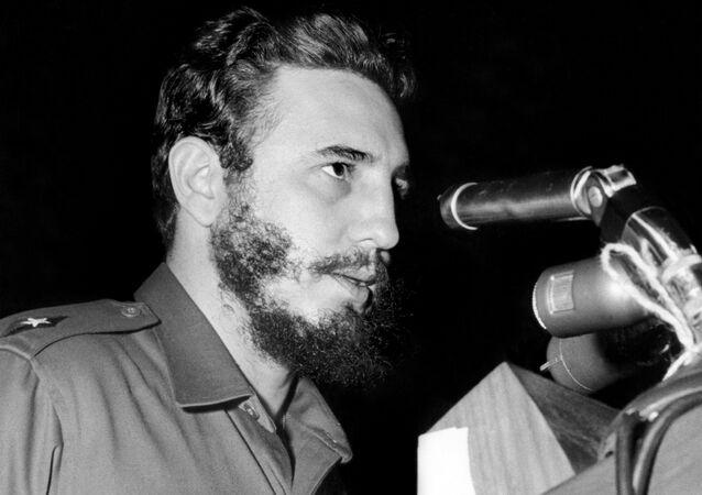 Fidel Castro (foto d'archivio)