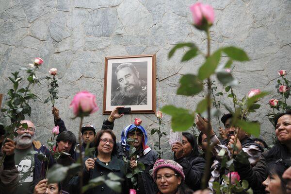 La reazione del mondo alla morte di Fidel Castro - Sputnik Italia