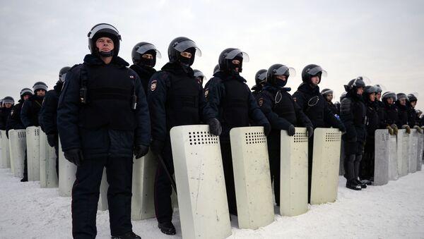 Manovre delle unità antisommossa della Guardia nazionale. - Sputnik Italia