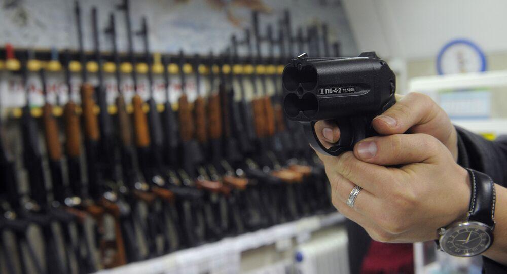 La pistola non letale Osa