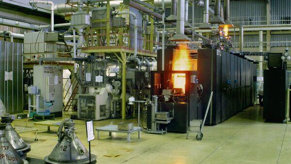 Reparto produzione di combustibile nucleare - Sputnik Italia