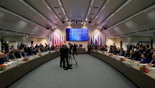 A general view of the beginning of a meeting of the Organization of the Petroleum Exporting Countries (OPEC) in Vienna, Austria, November 30, 2016. - Sputnik Italia