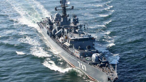 Russia's guard ship Yaroslav Mudry. File photo - Sputnik Italia