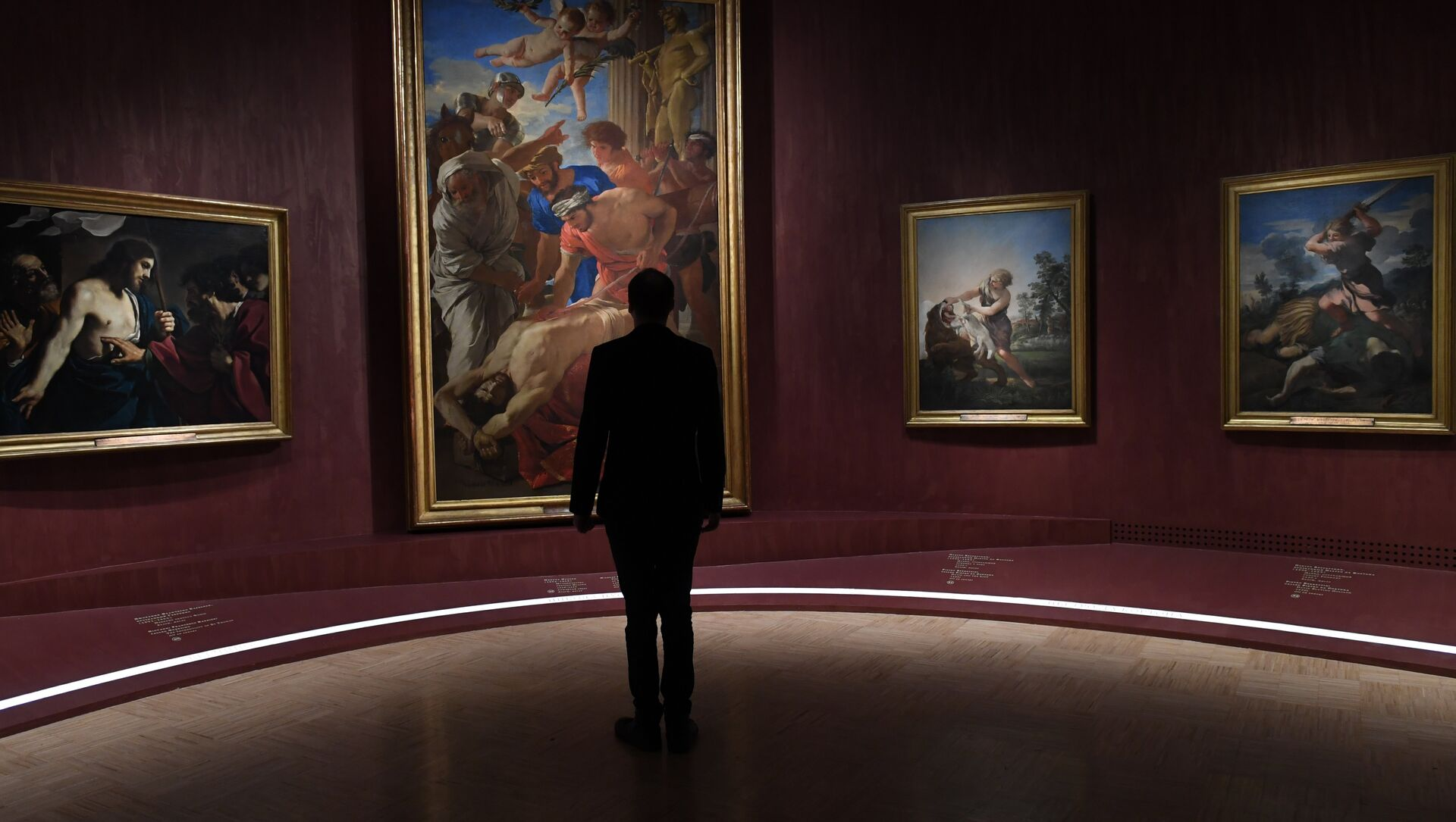 La più grande mostra al mondo della collezione dei Musei Vaticani Roma Aeterna a Mosca. - Sputnik Italia, 1920, 29.04.2021