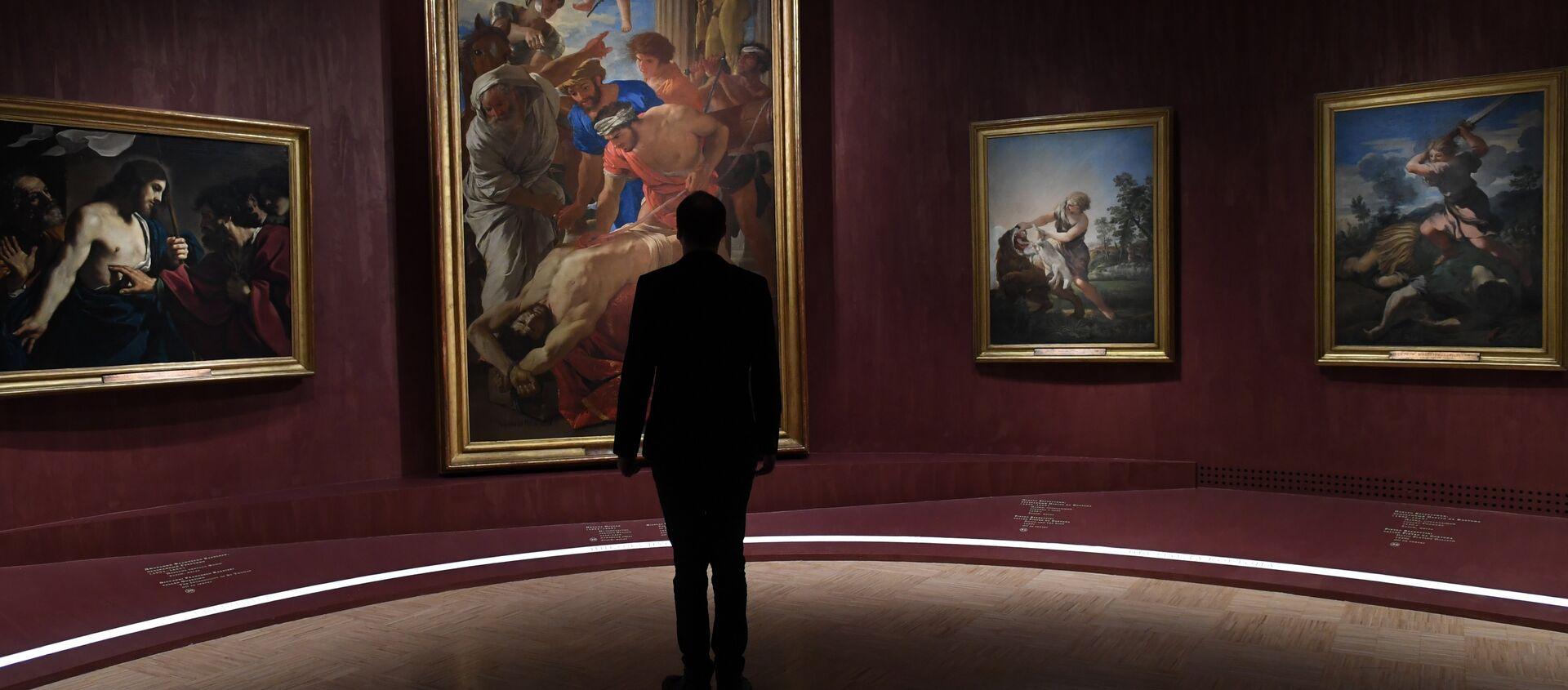 La più grande mostra al mondo della collezione dei Musei Vaticani Roma Aeterna a Mosca. - Sputnik Italia, 1920, 30.01.2021