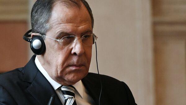 Il ministro degli Esteri russo Sergei Lavrov a Roma. - Sputnik Italia