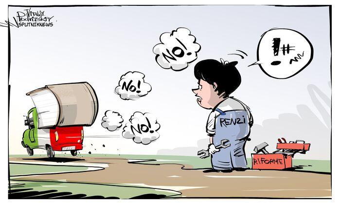 Matteo Renzi se ne va