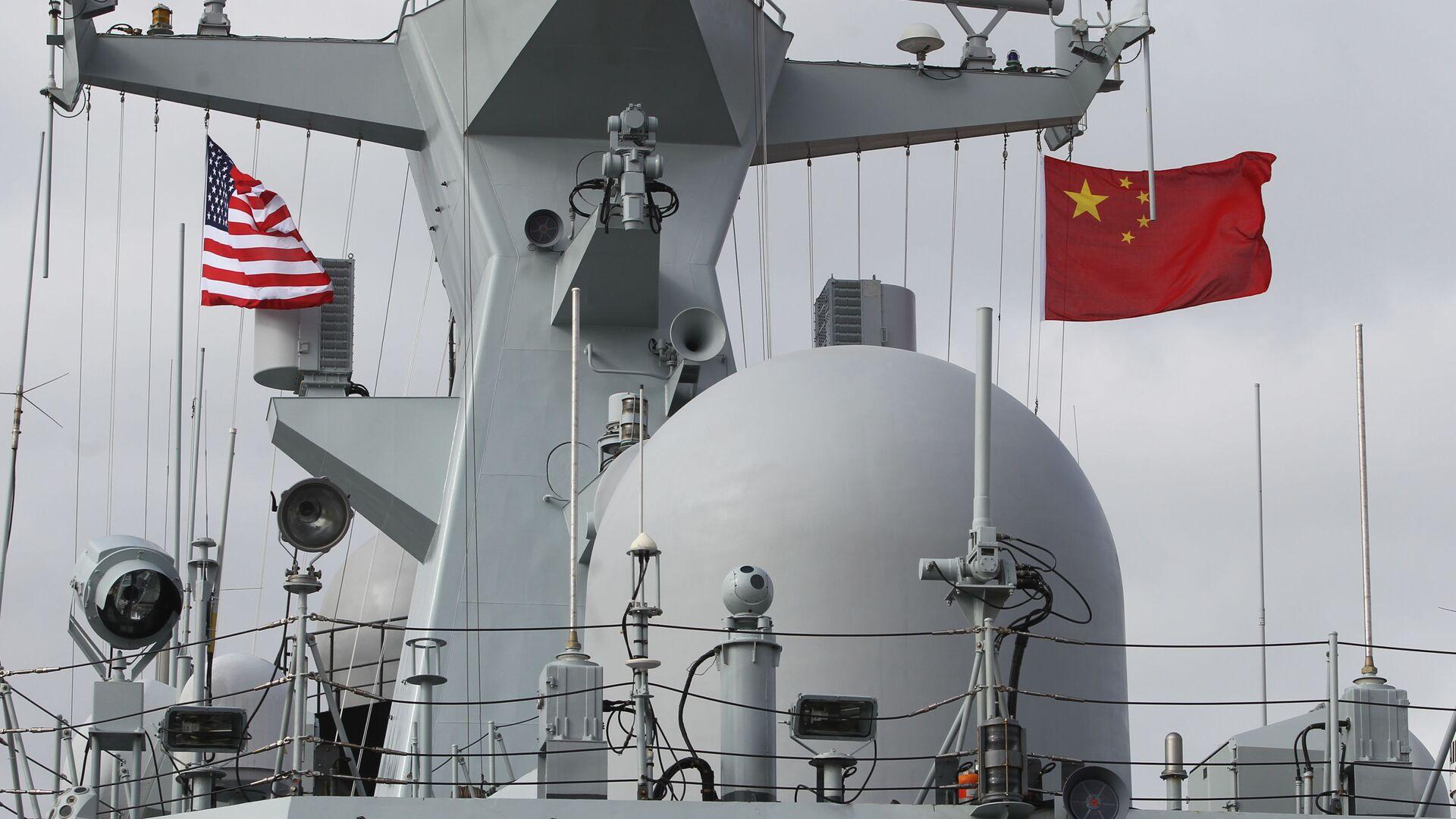 Una nave cinese - Sputnik Italia, 1920, 01.06.2021