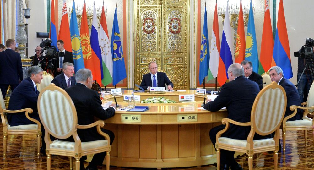 Russian President Vladimir Putin participates in CSTO and Supreme Eurasian Economic Council summits in Moscow
