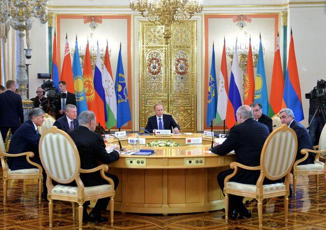 Vertice CSTO a Mosca (foto d'archivio)
