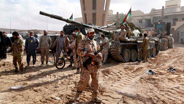 Militari dell'esercito della Libia - Sputnik Italia
