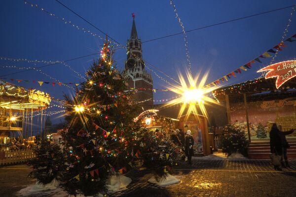 Mosca pronta per le feste - Sputnik Italia