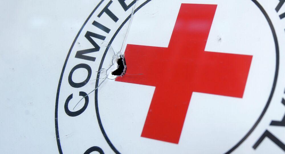 Croce rossa sotto attacco