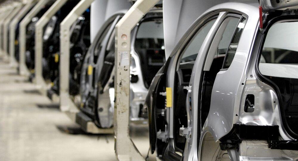 Fabbrica di automobili