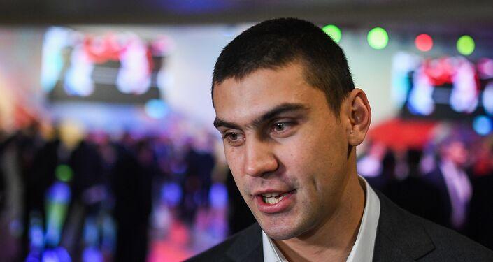 Il pugile russo Evgeniy Tishenko