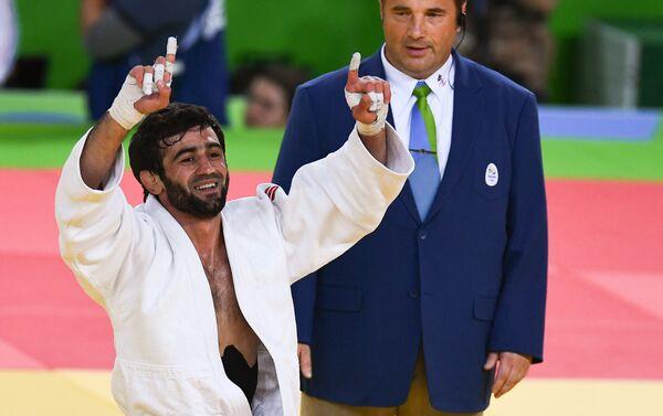 Il lottatore russo Beslan Mudranov alle Olimpiadi di Rio - Sputnik Italia