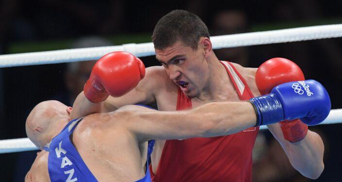 Evgeniy Tishenko alle Olimpiadi di Rio