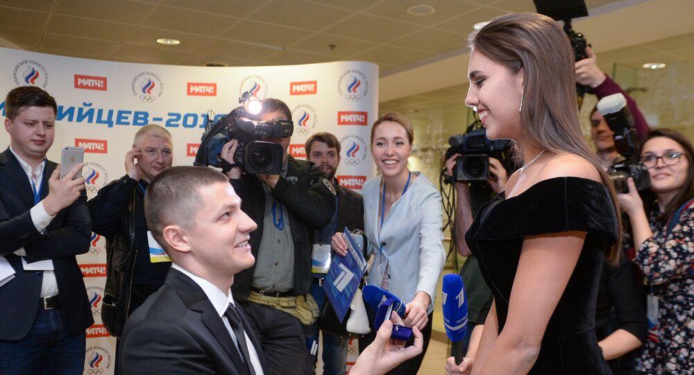 Fate e campioni, il ballo degli olimpionici russi