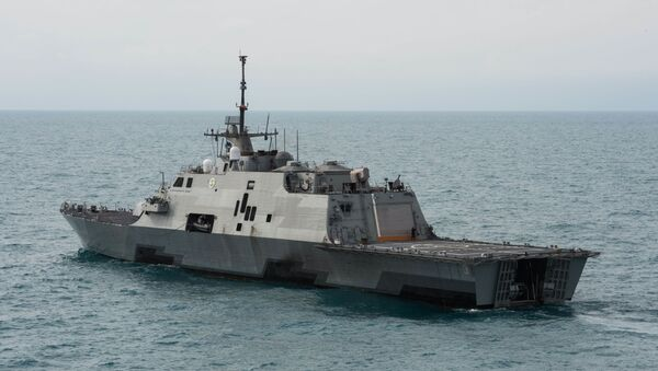 Littoral combat ship USS Fort Worth (LCS 3) - Sputnik Italia