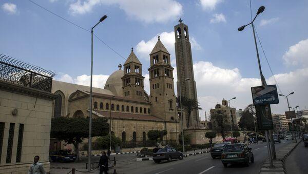 Saint-Mark's Coptic Cathedral in Cairo's al-Abbassiya district (File) - Sputnik Italia