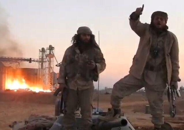 Combattenti del Daesh a Palmira