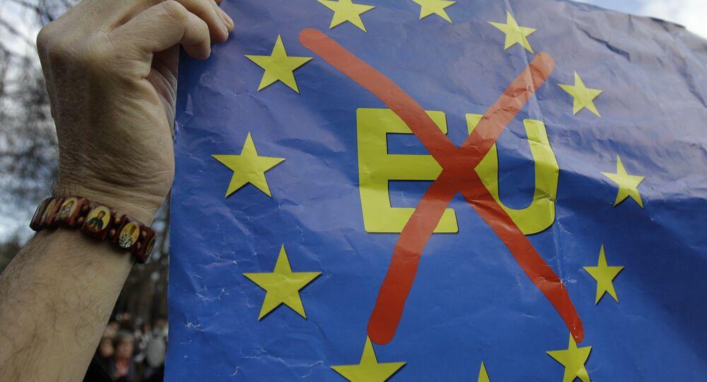 Cartello Anti-UE