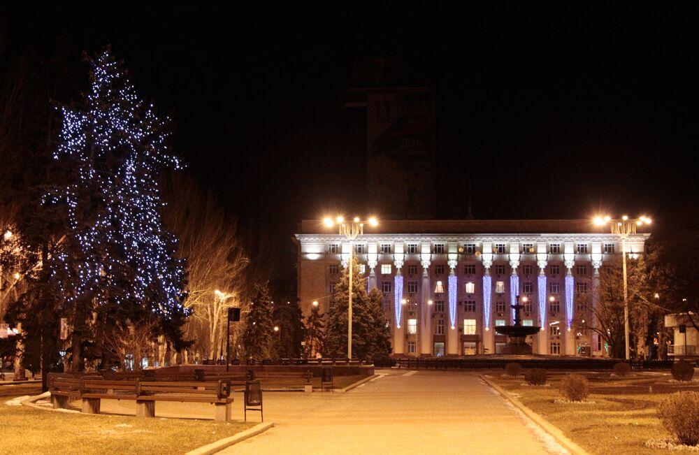 Anche Donetsk si prepara per le feste