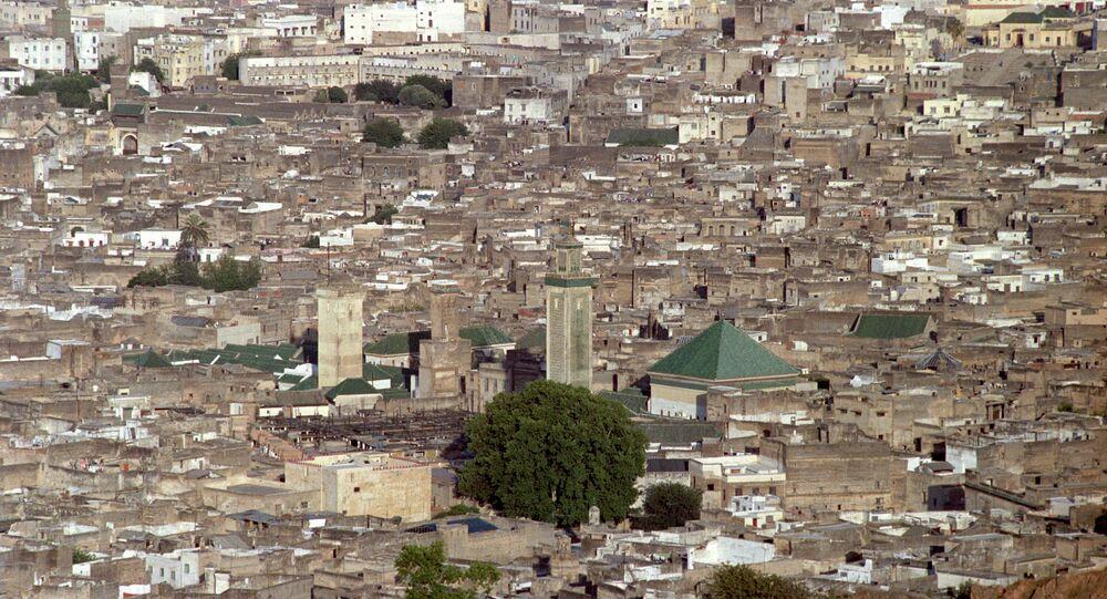 Una vista della città di Marocco