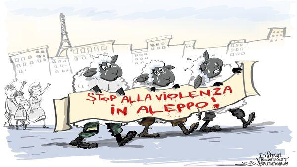 Stop alla violenza in Aleppo - Sputnik Italia
