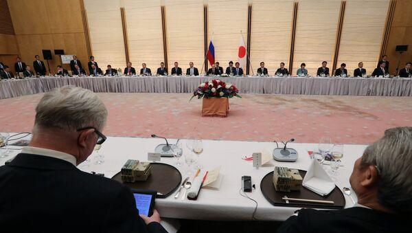 La visita di Putin in Giappone - Sputnik Italia