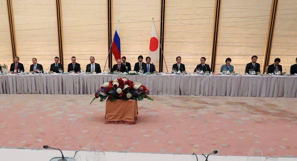 La visita di Putin in Giappone
